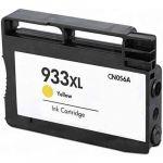 HP 933XL Yellow Ink Cartridge (CN056AN), High Yield (825 Yield), Compatible
