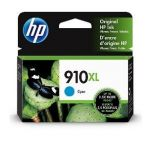 HP 910XL Cyan Ink Cartridge (3YL62AN), High Yield (825 Yield), OEM