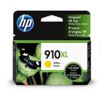 HP 910XL Yellow Ink Cartridge (3YL64AN), High Yield (825 Yield), OEM