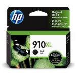 HP 910XL Black Ink Cartridge (3YL65AN), High Yield (825 Yield), OEM