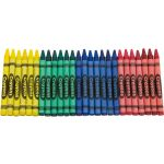 Round Bulk Crayons, 4 Different Colors, (3,000 Crayons)