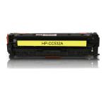 HP 304A Yellow Toner Cartridge (CC532A), (2,800 Yield), Compatible