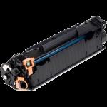 HP 85A Black Toner Cartridge (CE285A), (1,600 Yield), Compatible